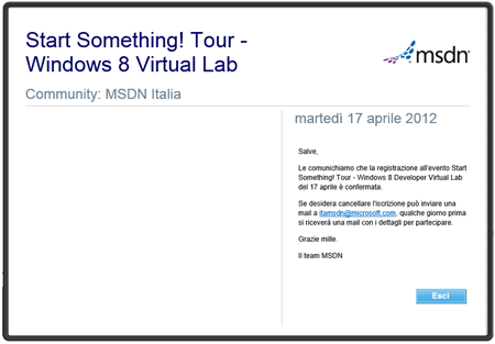 Virtual Lab n.1 (Win8)