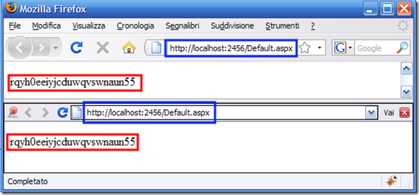 Split Browser in action