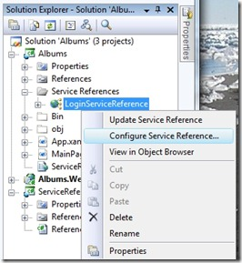 How to Configure Service Reference