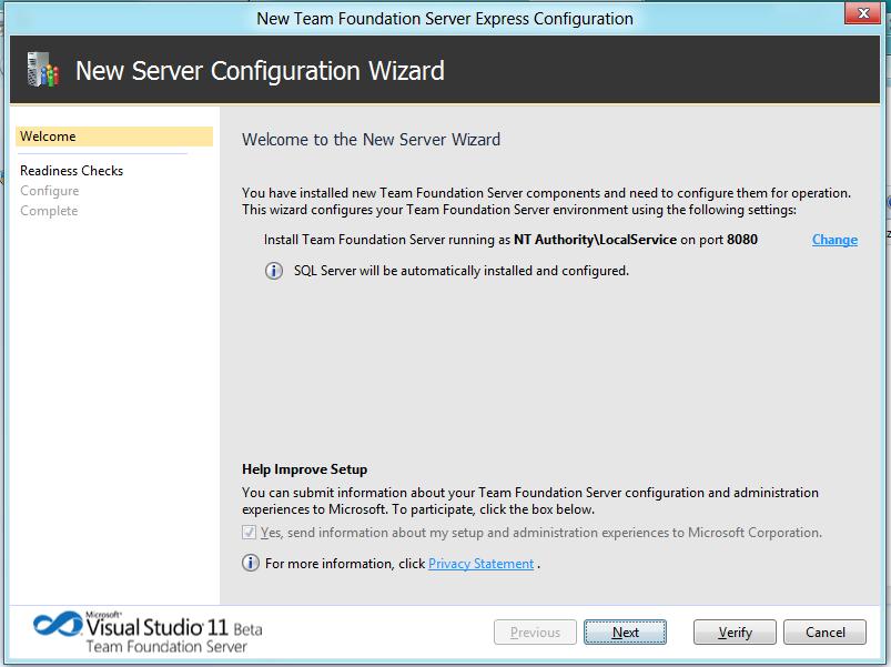 Installazione di team foundation server express - Porta sql server ...