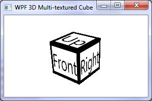 Multi-textured cube