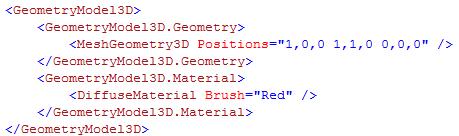 GeometryModel3D